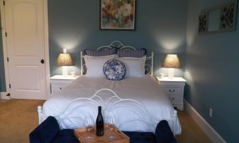 Bed in Provence Room